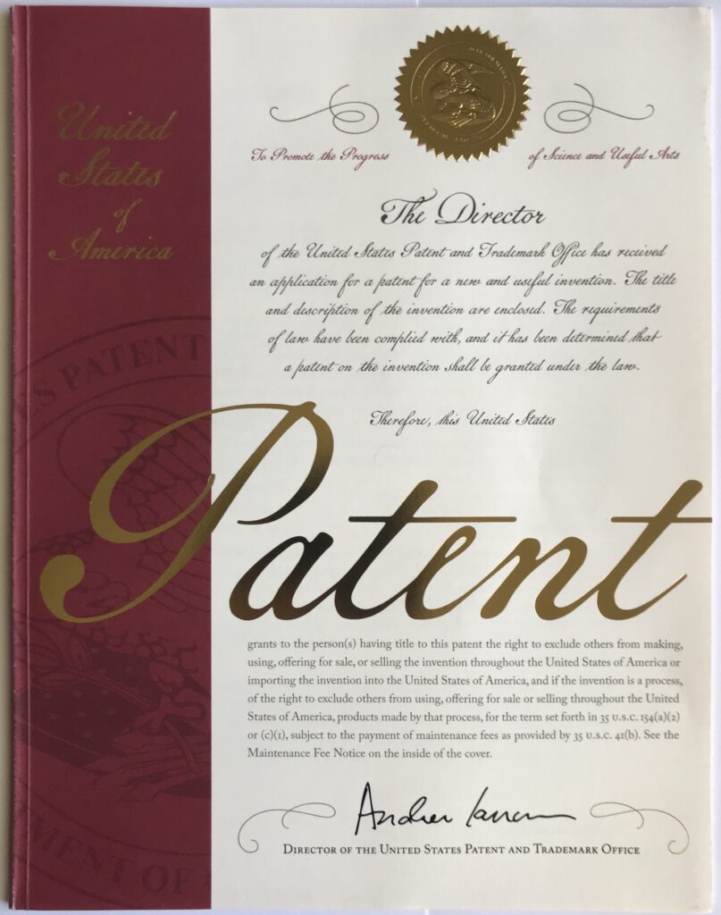 Ecopaas System US Patent
